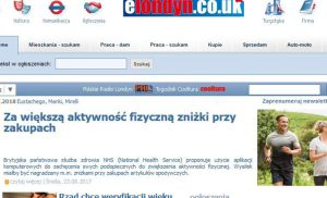 Portal dla Polaków w Londynie: elondyn.co.uk