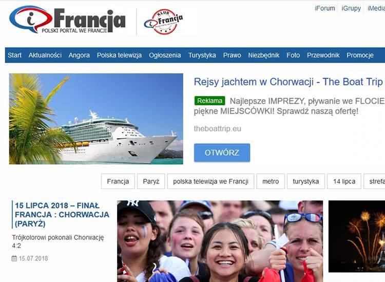 iFrancja – polski portal we Francji