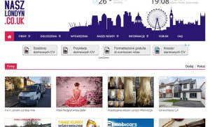 Nasz Londyn – polski portal ogłoszeniowy