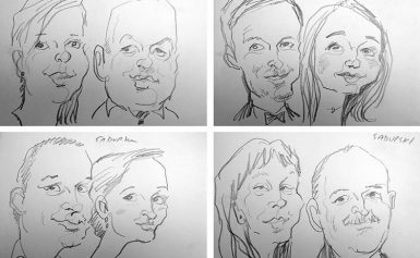Karykaturzysta na imprezie – dobry pomysł?