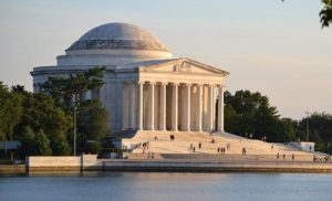Jefferson Memorial. Waszyngton