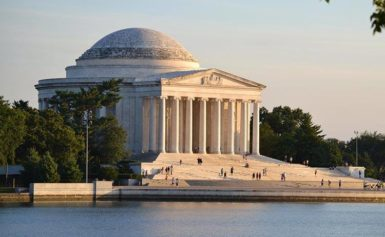 Jefferson Memorial. Waszyngton