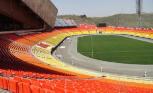 Stadion Hrazdan w Erywaniu, Armenia