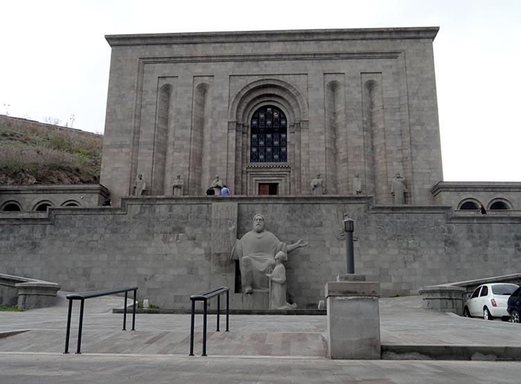 Matenadaran i Pomnik Matki Armenii w Erywaniu