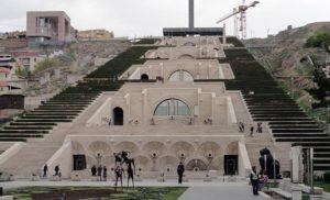 Kaskady w Erywaniu, Armenia