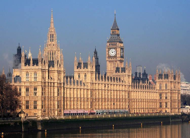 Pałac Westminsterski w Londynie