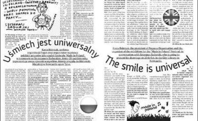 Śmiech jest uniwersalny. The smile is universal