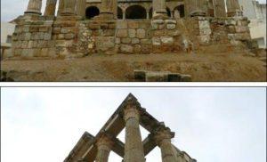 Świątynia bogini Diany w Merida, Hiszpania