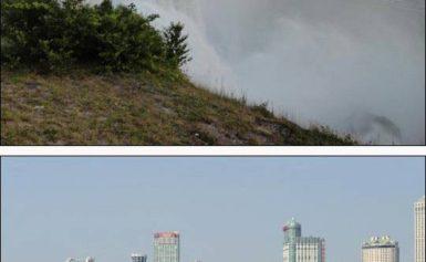 Amerykańskie Niagara Falls biednieje