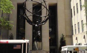Atlas w Nowym Jorku