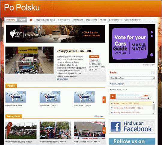 Australia. Radio SBS po polsku