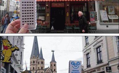 Bonn przywitało uśmiechniętego wieżowca