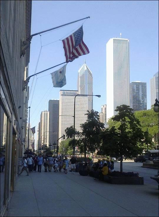 Centrum Chicago, Illinois, USA