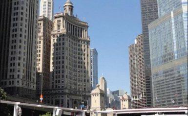 Chicago leży nad rzeką Chicago