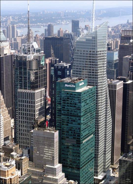 Conde Nast Building czyli Four Times Square