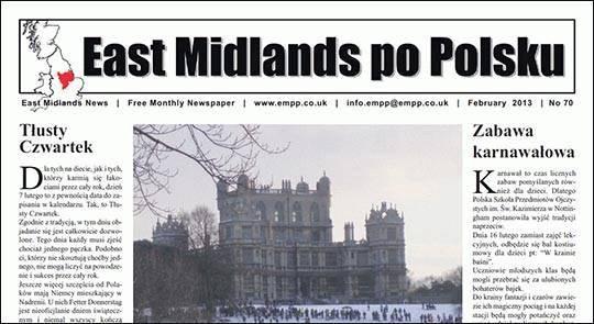East Midlands po Polsku