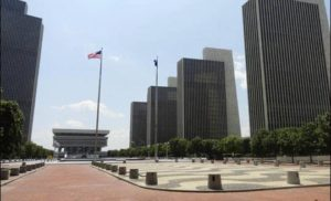 Empire State Plaza w Albany