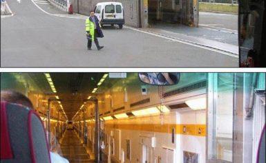 Eurotunel łączy Wielką Brytanię z kontynentem europejskim