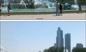 Fontanna Buckinghama w Chicago