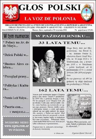 Głos Polski – polonijna gazeta z Argentyny