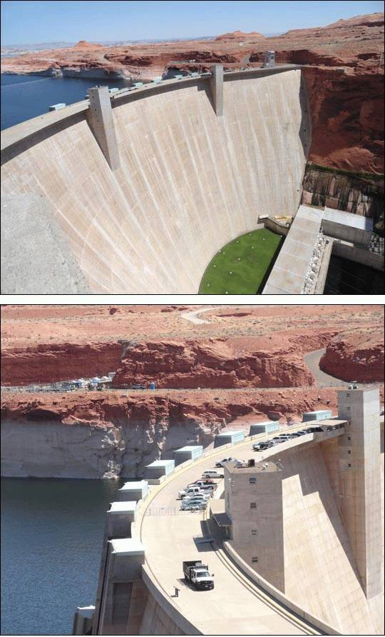 Glen Canyon Dam, Arizona
