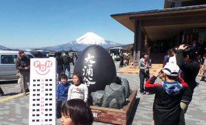 Dolina Wielkiego Wrzenia i wulkan Fudżi (Japonia)