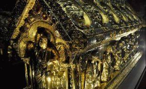 Historia odnalezienia relikwiarza św. Maura