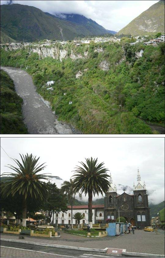 Honduras, miasteczko Banos