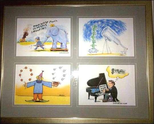 Humor rysunkowy na WOŚP