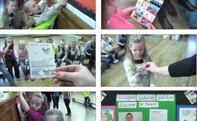 Humor w polskiej szkole w Newry (info + film)