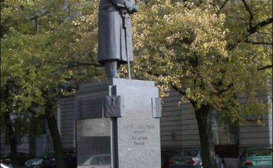 Józef Piłsudski – pomnik w Warszawie