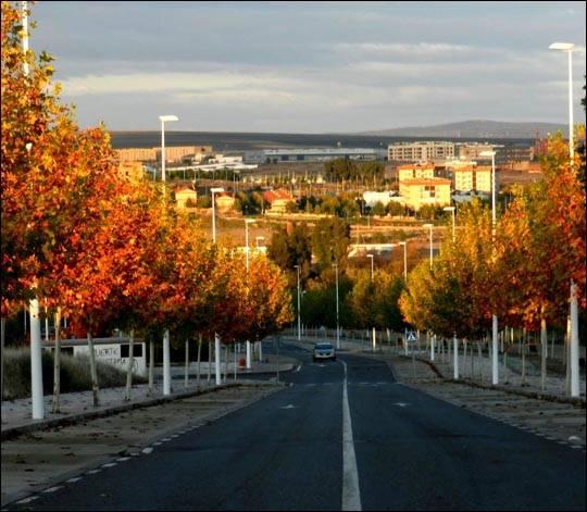 Jesień w Merida, Hiszpania