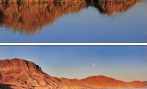 Jezioro Havasu w Arizonie