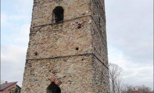 Kamienna wieża w Stołpiu