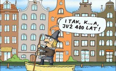 Kanały Amsterdamu mają 400 lat