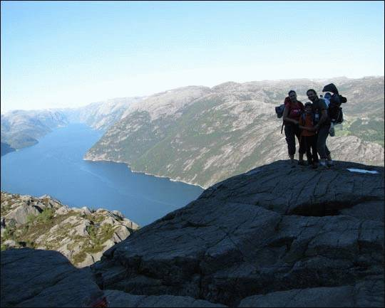 Klub turystyczny. Bergen, Norwegia