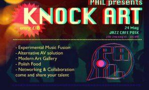 Knock Art w Londynie zaprasza