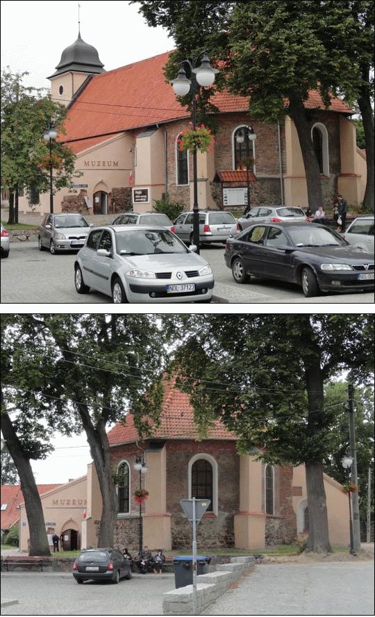 Kościół farny w Olsztynku