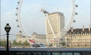 London Eye w Londynie