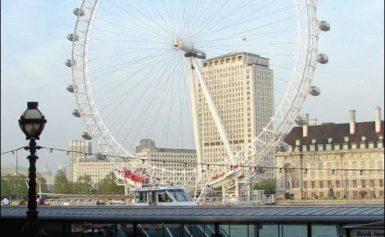London Eye w Londynie