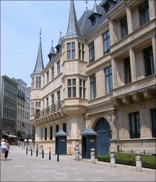 Luksemburg Pałac Wielkich Książąt