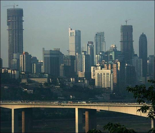 Miasto Chongqing, Chiny