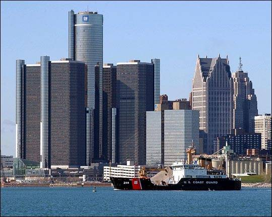 Miasto Detroit, USA