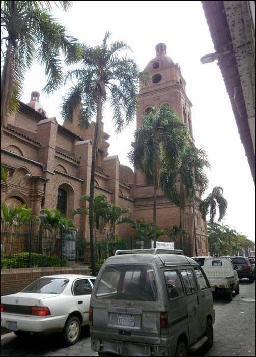 Miasto Santa Cruz w Boliwii