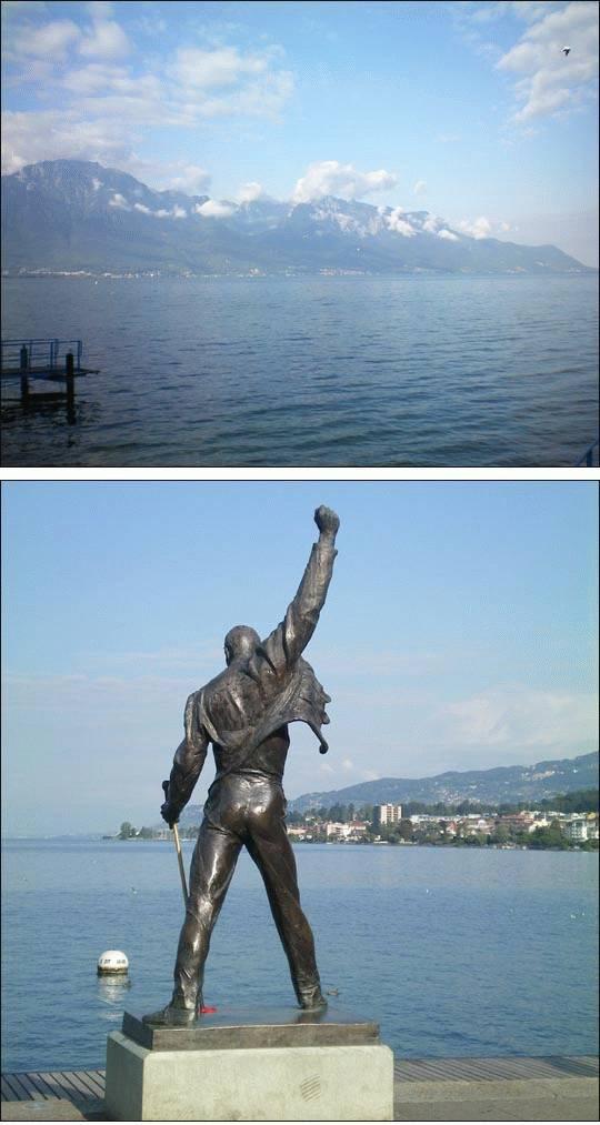 Montreux, znany kurort szwajcarski