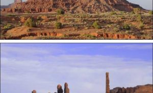 Monument Valley i westerny