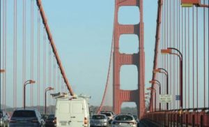 Most Golden Gate ma 75 lat