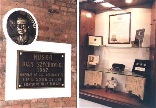 Muzeum Jana Szychowskiego, Argentyna