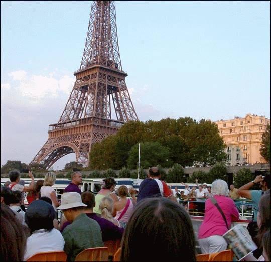 Najpopularniejsze miejsca w Paryżu