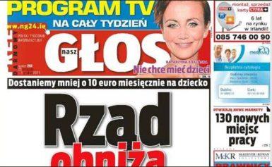 Nasz Głos – polski tygodnik w Irlandii
